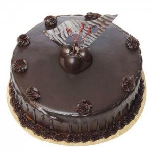Cream Chocolate Truffle Cake - Send Chocolate Truffle Cakes Online