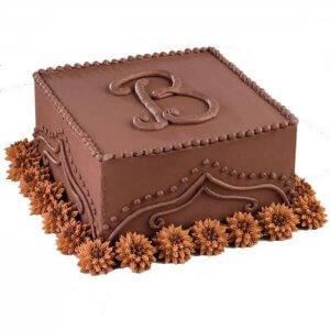 Yellow Baby Bum Baby Shower Cake - Send Chocolate Truffle Cakes Online