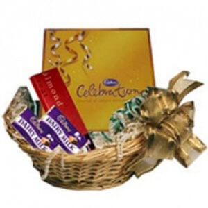 Chocolate Basket - Birthday Gift Ideas For Her - Chocolate Day Gifts