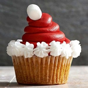 Cream Cherry 6 Cup Cakes - Online Cake Delivery - Send Cup Cakes Online