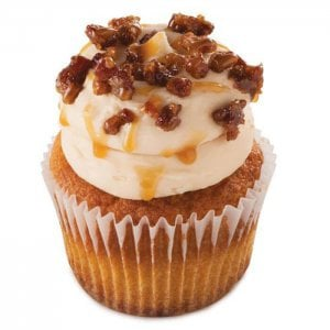 Creamy Butterscotch 6 Cup Cakes - Online Cake Delivery - Send Cup Cakes Online