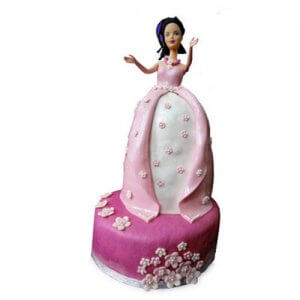 Princess Cake Doll Online from Way2flowers