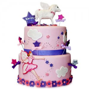 Angels Cake - Birthday Cake Online Delivery - Valentine Cakes Online
