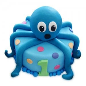 Octopus Cake - Birthday Cake Online Delivery