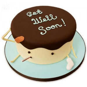 Get Well Soon Cake - Birthday Cake Online Delivery - Get Well Soon Flowers Online