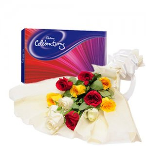 Colorfull Celebration - Online Gift Shop India - Same Day Delivery Gifts Online