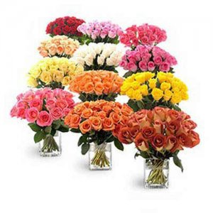 Entire Roses from Garden - Kiss Day Gifts Online