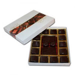 White Chocolate Box - Birthday Gift Ideas For Her - Chocolate Day Gifts