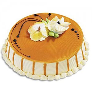 Five Star   -   Butterscotch Cake - Birthday Cake Online Delivery