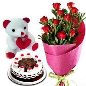 Pure Romance - Online Flower Delivery In India - Send Valentine Gifts for Her