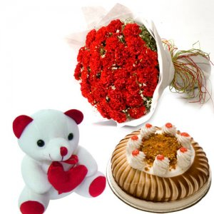 Carnation of Paradise - Flowers and Cake Delivery