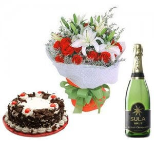 Passionate Flame - Flowers and Cake Delivery