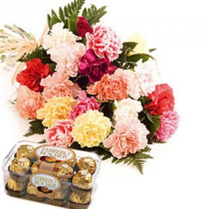 Carnation N Ferro  -  Online Flower Delivery in India