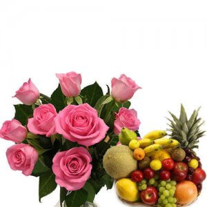 Spring Gardens - Flowers with fresh fruits online