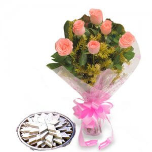 Just For You - Online Flower Delivery in India - Flowers with Sweets Online