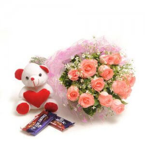 Elegance In Style - Valentines Teddy Day