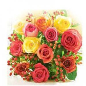 Colorful Wishes - Flower Bouquet Online