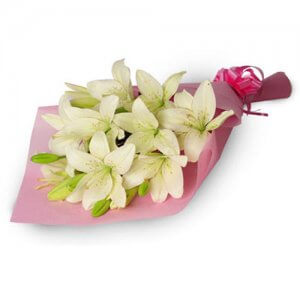 My Angel 6 White Lilies - Birthday Gifts for Him