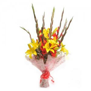 Fiery Glades - Flower Bouquet Online