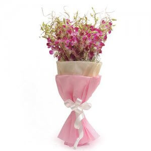 Royal Purple - Flower Bouquet Online
