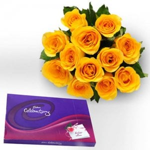 Style Celebration - Online Flower Delivery in India - Flowers with Chocolate