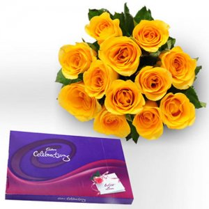 Style Celebration   -  Online Flower Delivery in India - Chocolate Day Gifts