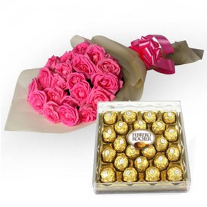 My Fondest Affection - Flowers with Chocolate