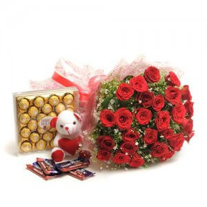 Perfect N Lovely - Flowers with Chocolate