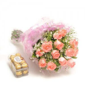 Simple Elegance   -  Online Flower Delivery in India - Chocolate Day Gifts