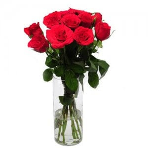 Rose Delight - Online Gift Shop - Glass Vase Arrangements
