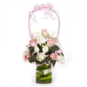 Blooming Masterpiece - Online Gift Shop - Glass Vase Arrangements