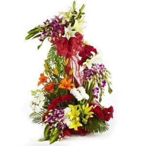 Rhythm Divine Mix Flowers - Send Carnations Flowers Online