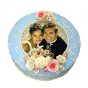 Photo Cake 2kg - Online Cake Delivery - Send Personalised Photo Cakes Online