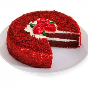 Dark Red Velvet Cake - Same Day Delivery Gifts Online
