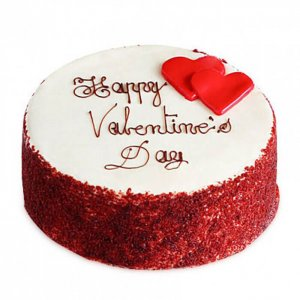 Red Velvet Affectionate Cake - Send Red Velvet Cakes Online