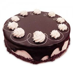 Marble Cake Black 1kg - Birthday Cake Online Delivery
