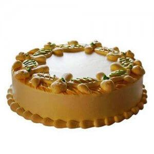 Creamy Sphere Cake 1kg - Birthday Cake Online Delivery