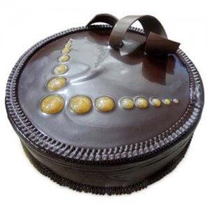 Choco Truffle Cake 1kg - Birthday Cake Online Delivery - Send Designer Cakes Online