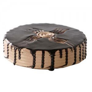 Coffee Almond Cake 1kg - Birthday Cake Online Delivery - Send Designer Cakes Online
