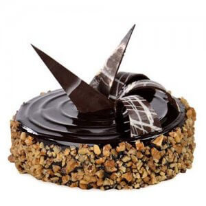 Chocolate Walnut Truffle 1kg - Birthday Cake Online Delivery - Send Chocolate Cakes Online