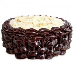 German Chocolate Cake 1kg - Birthday Cake Online Delivery - Send Chocolate Cakes Online
