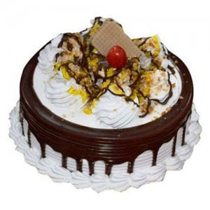 The Pineapple Cake Half Kg - Birthday Cake Online Delivery