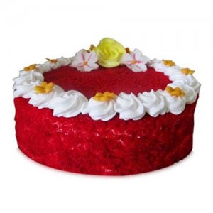 Red Velvet Cake 1kg - Birthday Cake Online Delivery - Send Mother's Day Cakes Online