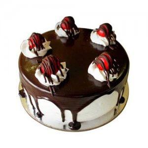 Black Forest 1kg - Birthday Cake Online Delivery - Send Designer Cakes Online