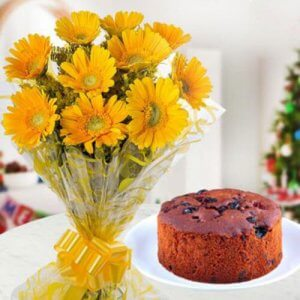 Christmas Colourful Affair - Online Christmas Gifts Flowers Cakes
