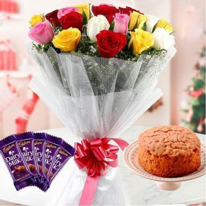 Christmas Sweetness - Online Christmas Gifts Flowers Cakes