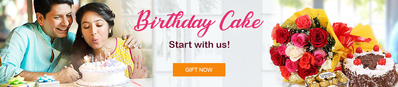 Birthday cake delivery in India online