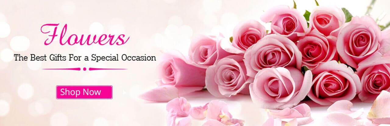 order a fresh flower delivery in India online